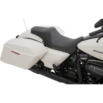 Drag Specialties Predator III Seat for 2008-2020 Harley Touring - Smooth