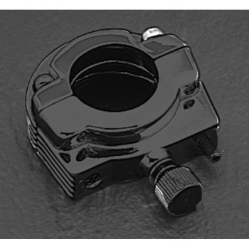 Single Cable Throttle Clamp - Black