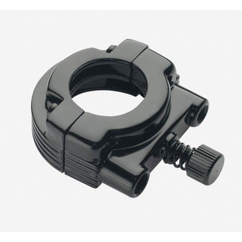 Dual Cable Throttle Clamp - Black