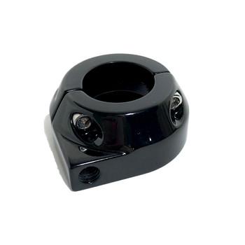 Custom Single Cable Throttle Clamp - Black