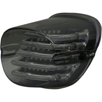Custom Dynamics Probeam Squareback LED Tail Light for Harley - Smoke