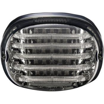 Custom Dynamics Probeam LED Squareback Tail Light for Harley - Smoke