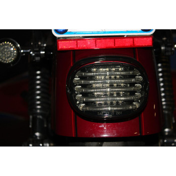 Custom Dynamics Probeam Low Profile LED Tail Light for Harley - Smoke