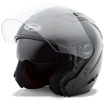 GMAX OF77 Open Face Helmet - Gloss Black
