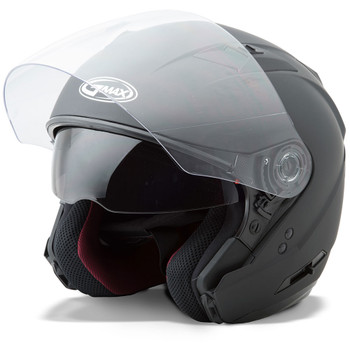GMAX OF77 Open Face Helmet - Matte Black