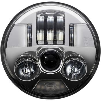 "Custom Dynamics 5.75"" Probeam LED Headlight for Harley - Chrome"