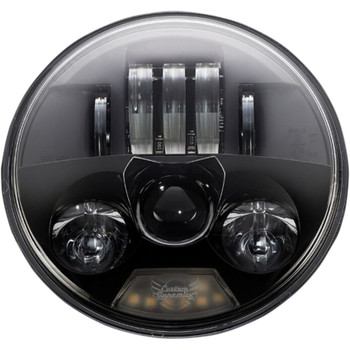 "Custom Dynamics 5.75"" Probeam LED Headlight for Harley - True Black"