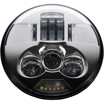 "Custom Dynamics 7"" Probeam LED Headlight for Harley - Chrome"