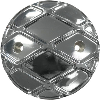 Eddie Trotta Platinum Points Cover for Harley Milwaukee 8 - Chrome