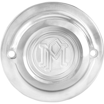 Performance Machine Scallop Points Cover for Harley Milwaukee 8 - Chrome