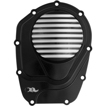 Ken's Factory Vanquish Cam Cover for Harley Milwaukee 8 - Black Machine