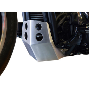Speed Merchant Skid Plate for 2018 Harley Softail - Brushed