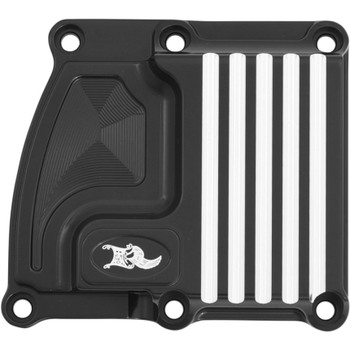 Ken's Factory Transmission Top Cover for 2017-2018 Harley Touring - Black Machine