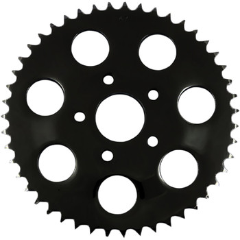 Drag Specialties Flat Chain Conversion Rear Sprocket for 1986-1999 Harley* - Gloss Black