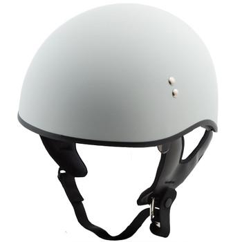 GMAX GM65 Solid Naked Half Helmet - Flat White