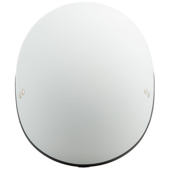 GMAX GM65 Solid Naked Half Helmet - Flat White
