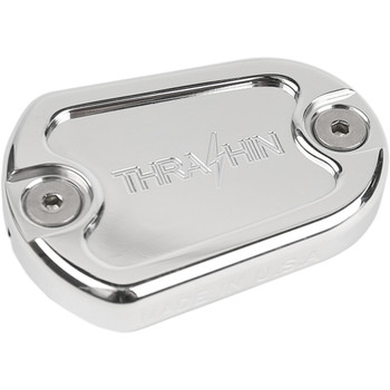 Thrashin Supply Dished Master Cylinder Rear Brake Cover for 2014-2018 Sportster - Polished