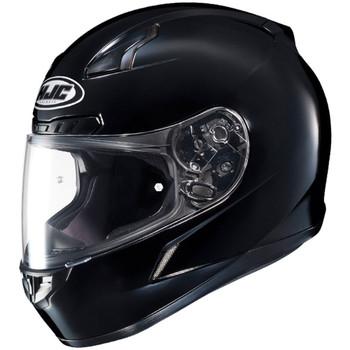 HJC CL-17 Solid Helmet - Gloss Black