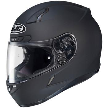 HJC CL-17 Solid Helmet - Matte Black