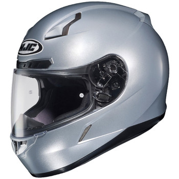 HJC CL-17 Solid Helmet - Silver