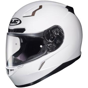 HJC CL-17 Solid Helmet - White
