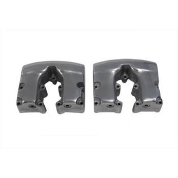 V-Twin Replica Shovelhead Rocker Box Covers - Polished