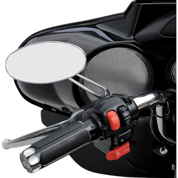 Drag Specialties Stealth I Mirror for Harley - Chrome
