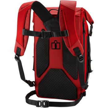 Icon Dreadnaught Backpack - Red