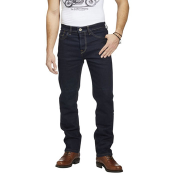 Rokker RokkerTech Slim Straight Raw Motorcycle Jeans