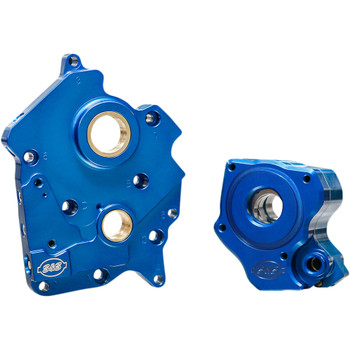 S&S Oil Pump and Cam Support Plate Kit for 2017-2020 Harley Milwaukee Eight