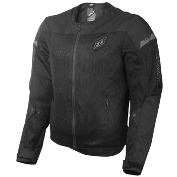 FLY Street Flux Air Mesh Jacket - Black
