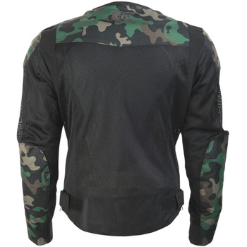 FLY Street Flux Air Mesh Jacket - Camo
