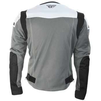 FLY Street Flux Air Mesh Jacket - Gray/White