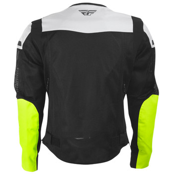 FLY Street Flux Air Mesh Jacket - Black/Hi-Viz