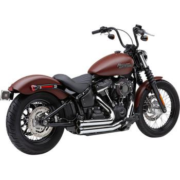 Cobra Speedster Short 909 Exhaust for 2018-2020 Harley Softail - Chrome