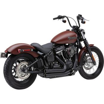 Cobra Speedster Short 909 Exhaust for 2018-2020 Harley Softail - Black