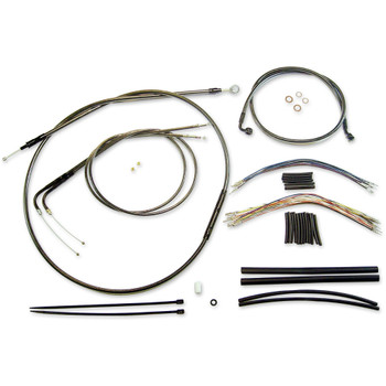 "Magnum Black Pearl 12""-14"" Cable Kit for 2016-2017 FLS Slim w/o ABS"