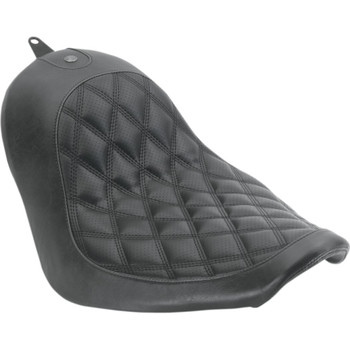 Roland Sands Boss Solo Seat for 2006-2017 Harley Softail 200mm