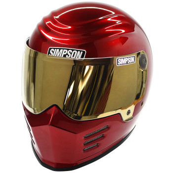 Simpson Outlaw Bandit Helmet - Candee Red
