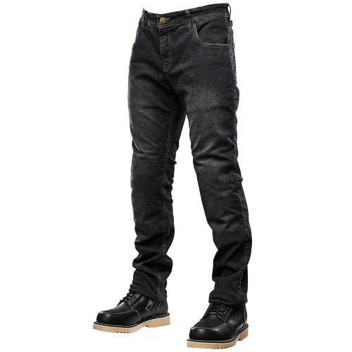 Speed and Strength Critical Mass Armored Stretch Jeans - Washed Black