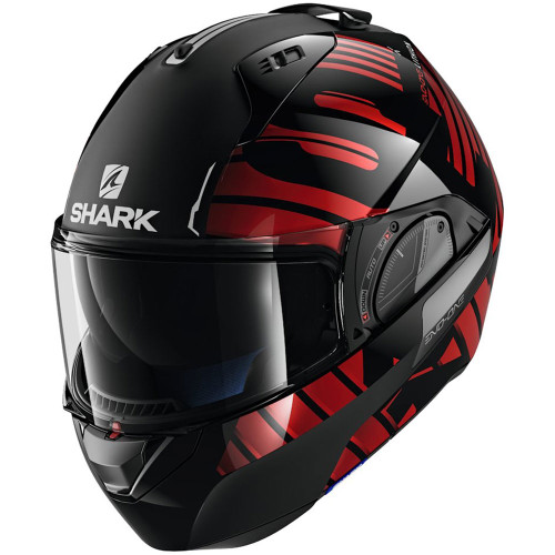 Shark Evo One 2 Lithion Dual Modular Helmet - Black/Red