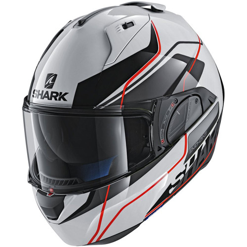 Shark Evo One 2 Krono Modular Helmet - White/Black/Red