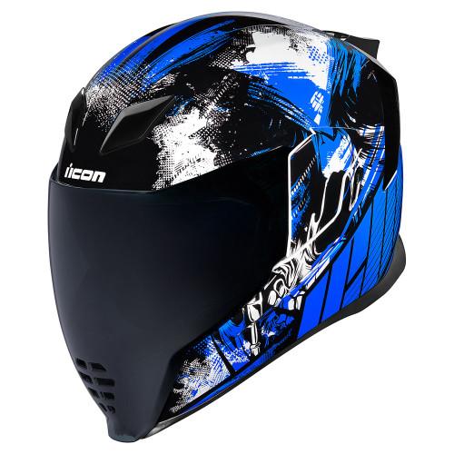 Icon Airflite Helmet - STIM Blue