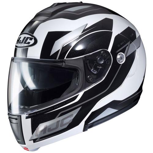 HJC CL-Max 3 Modular Helmet - White/Black