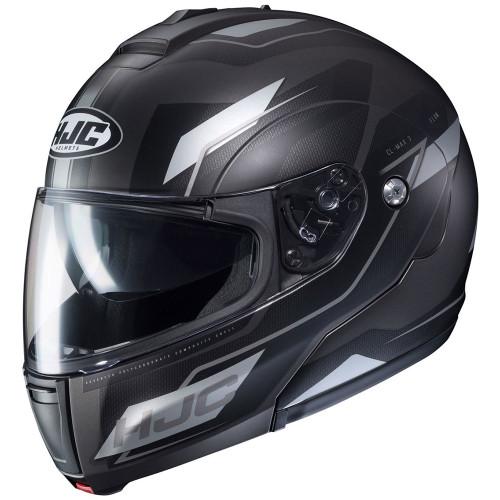 HJC CL-Max 3 Modular Helmet - Matte Black/Silver