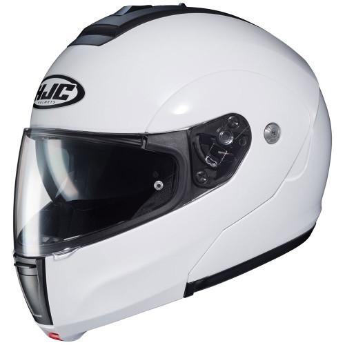 HJC CL-Max 3 Modular Helmet - Matte Pearl White