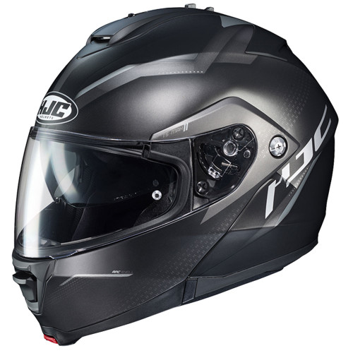 HJC IS-Max 2 Dova Modular Helmet - Black/Grey