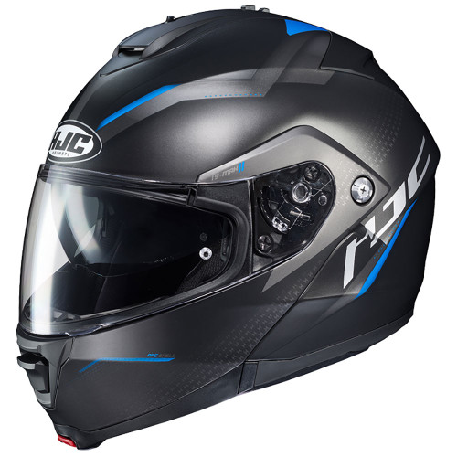 HJC IS-Max 2 Dova Modular Helmet - Black/Blue