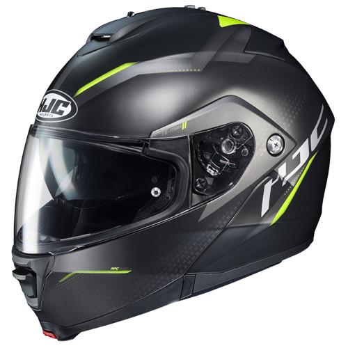 HJC IS-Max 2 Dova Modular Helmet - Black/Hi-Viz