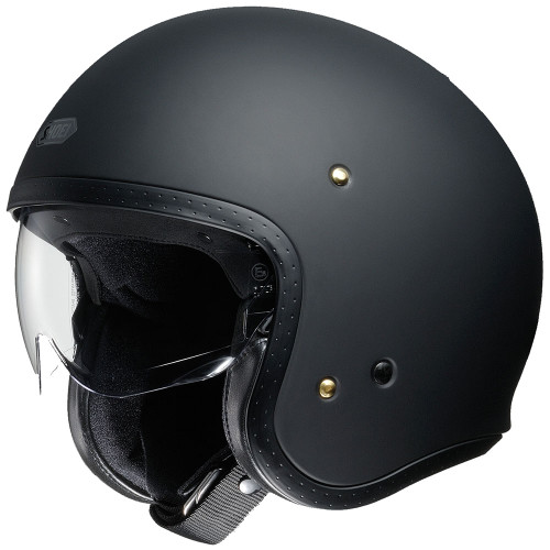 Shoei J.O. Helmet - Matte Black